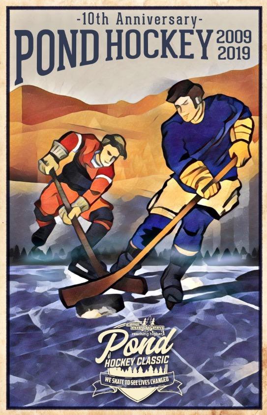 10th Anniversary Pond Hockey Tournament Camp Evergreen